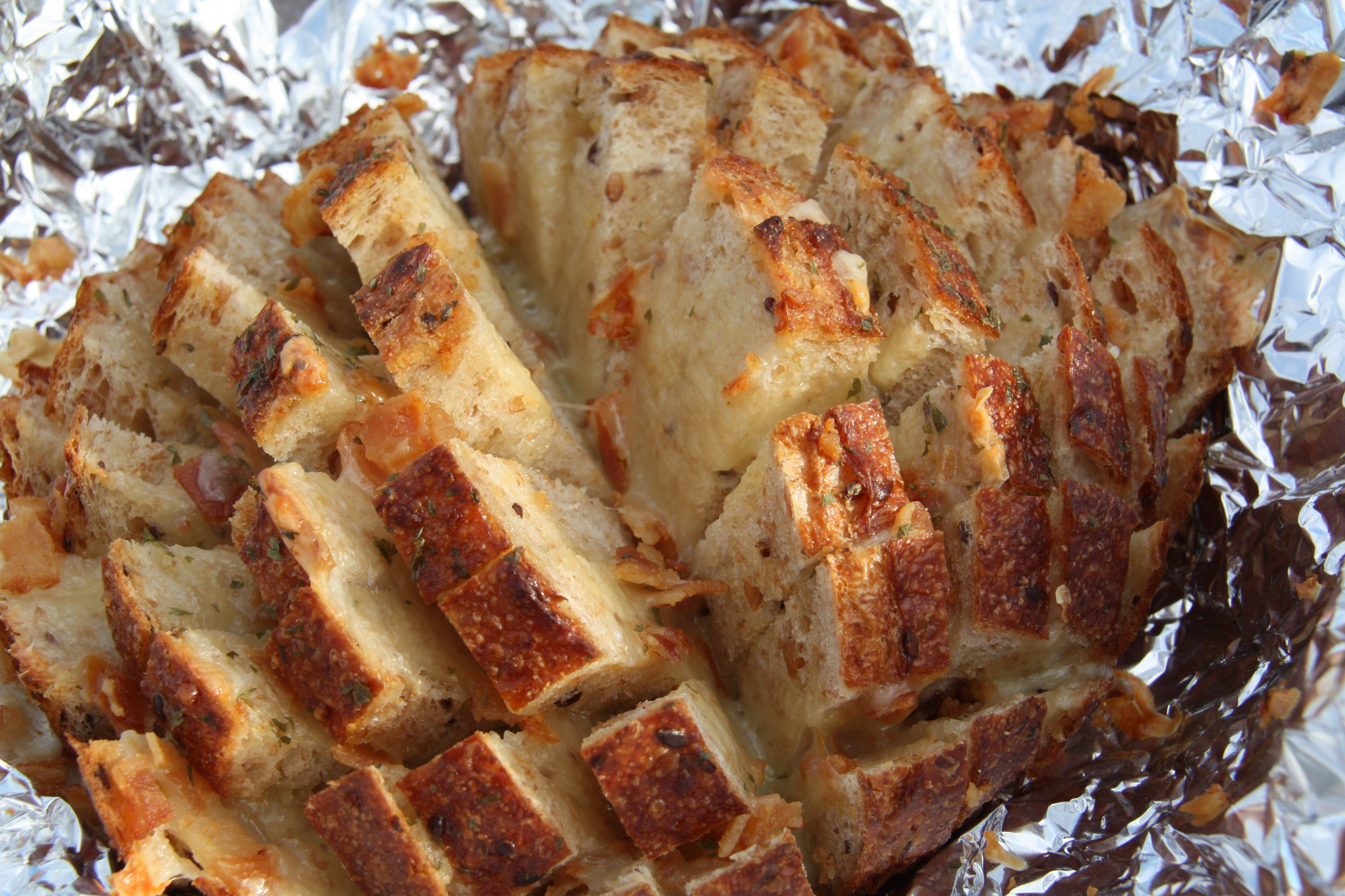 Bacon Cheese Stuffed Bread «Anne Jisca's Healthy Pursuits Anne Jisca ...